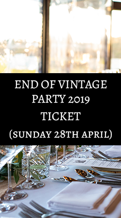 End of Vintage Party 2019 Ticket (28th April)